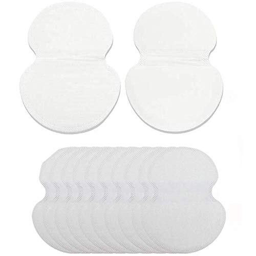Underarm Sweat Pads - EQARD Breathable Sweat Pads Comfortable Unflavored, Disposable Armpit Sweat Pads to Fight Hyperhidrosis,Absorbing Perspiration,Odor Blocker Sheet for Men and Women(12 Pcs)