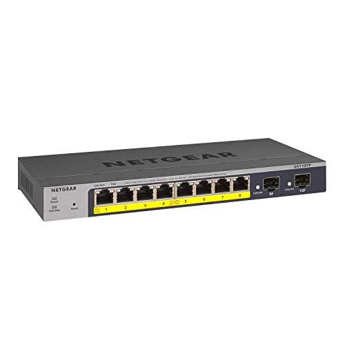 NETGEAR GS110TP Switch Smart Managed Pro PoE, 8...