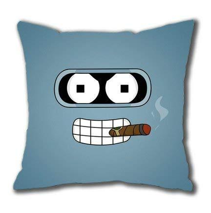 shengpeng Sakuraelieechyan Futurama Blender Cotton Square Pillow Case