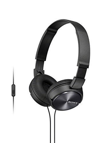 Sony MDR-ZX310AP Cuffie con Microfono, Nero