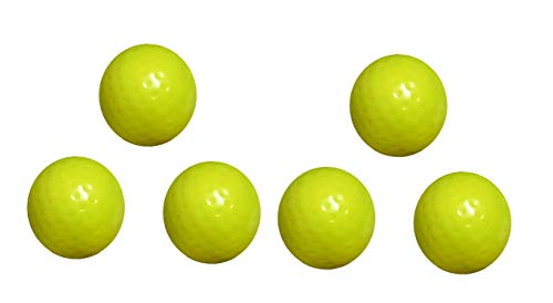 Arnav Superior Export Quality Field Hockey Yellow Dimple Turf Ball for Practice and Match (6)