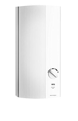 AEG elektronischer Durchlauferhitzer DDLE Basis, umschaltbar 18/21/24 kW, Temperaturwahl durch 4 Anwendugssymbole, 222390