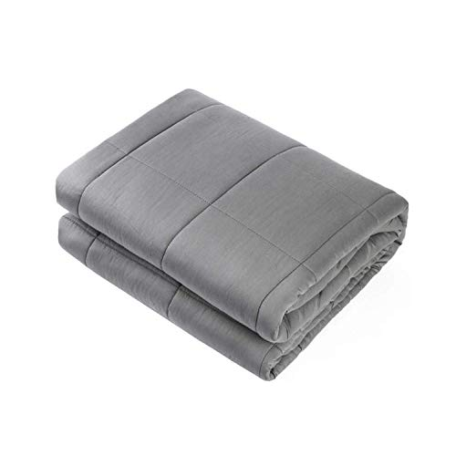 Adult Weighted Blanket Queen Size, Heavy Blanket with Premium Glass Beads