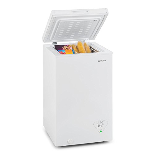 Klarstein Iceblokk 60 - Congelatore, Classe Energetica A+, Volume 60 Litri, Cesto Pensile...