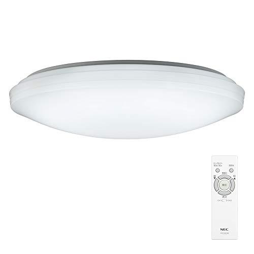 NEC LEDシーリングライト 調光タイプ~14畳 HLDZE14209 LEDシーリングライトを買うときの注意点!部屋より大きいサイズがオススメ!蛍光灯から交換のメリット・デメリット。