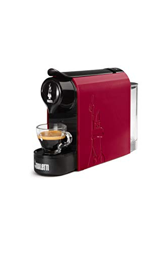 Bialetti Gioia Macchina da caffè Espresso, 1200 W, 0.5 Litri, Rosso
