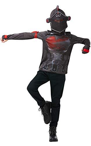 Fortnite - Disfraz camiseta Black Knight para niños, 11-12 años (Rubies 300193 11-12)