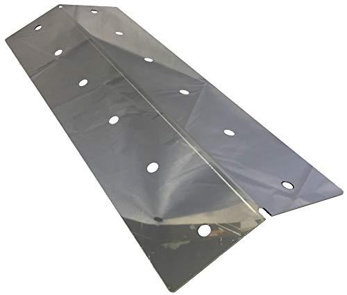 16 1/2 x 6 1/4, Captn Cook, Coleman, Nexgrill, Turbo Stainless Heat Shield - COHP1