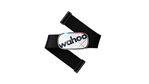 Wahoo Fitness Unisex's Wahoo TICKR X Heart Rate Monitor with Memory, Bluetooth/ANT+, White, One Size