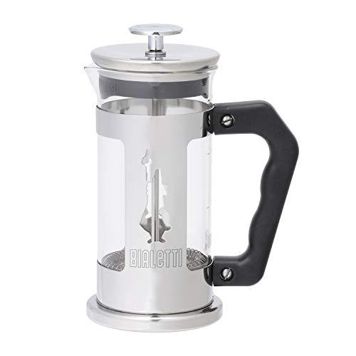 Bialetti 0003160/Nw Coffee Press Omino, Caffettiera Pressofiltro 3 Tazze, Acciaio Inossidabile,...