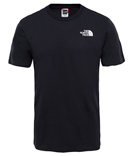 The North Face M SS Simple Dome Tee, Maglia a Maniche Corte Uomo, Nero (TNF Black), M