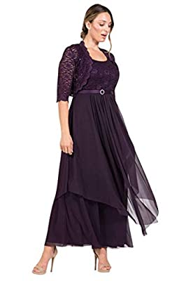 We ship our dresses from Los Angeles California R&M Richards Plus Size Formal Mother of the Bride Dresses Free Shipping Please check your measurements with the size chart posted under the picture.