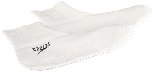 Speedo Latex, Calzini Unisex Adulto, Nero (White/Black), L