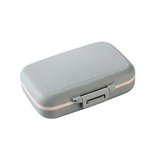 liangzishop Astuccio portapillole Comodo Pillola Travel Organizer Comodo da trasportare Piccolo Pill Box for Aria for Uso Domestico di Viaggio Organizer per Pillole settimanale (Color : C)