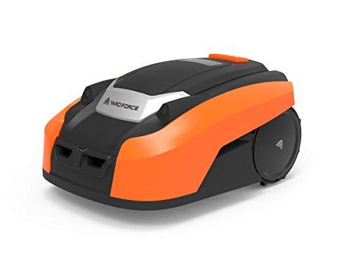 Yard Force Robot Tondeuse LUV600Ri avec App et Capteurs Ultrason Intégrés pour Pelouse jusqu'à 600m²