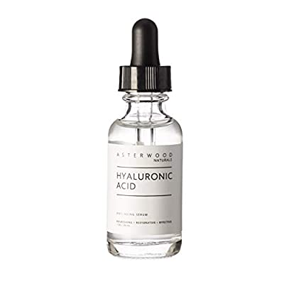 BRIGHT AND YOUTHFUL SKIN - Evens skin tone for a brighter, more radiant complexion. ORGANIC & VEGAN - Our Hyaluronic Acid is organic and vegan for healthy and beautiful skin. NO OILS, FRAGRANCES, PARABENS OR SULFATES - All Asterwood Naturals Serums a...