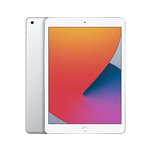 Apple iPad (de 10.2 pulgadas, con Wi-Fi y 32 GB) - Plata (Ultimo Modelo, 8.ª generación)