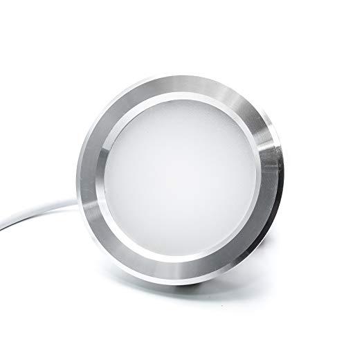 Faretto led incasso 3w slim luce cappa cucina mensole 220v sostituzione alogena - Luce Bianco caldo