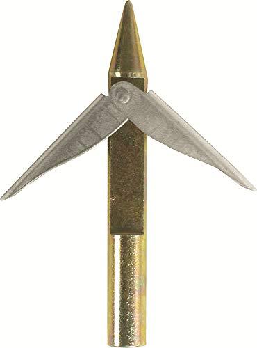 Cressi Mach Spear Head Arpione Pesca Sub Alette Inox, Silver, Uni
