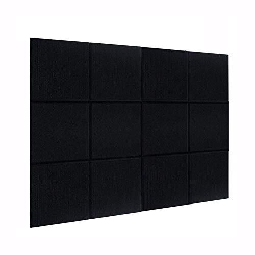 DEKIRU New 12 Pack Acoustic Foam Panels, 12 X 12 X 0.4 Inches...