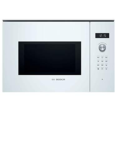 Bosch Serie 6 BEL554MW0 Intégré - Micro-ondes (Intégré, Micro-ondes grill, 25 L, 900 W, Rotatif, Tactil, Blanc)