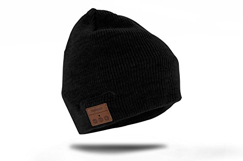 Tenergy Wireless Bluetooth Beanie Hat with Detachable Stereo Speakers &...
