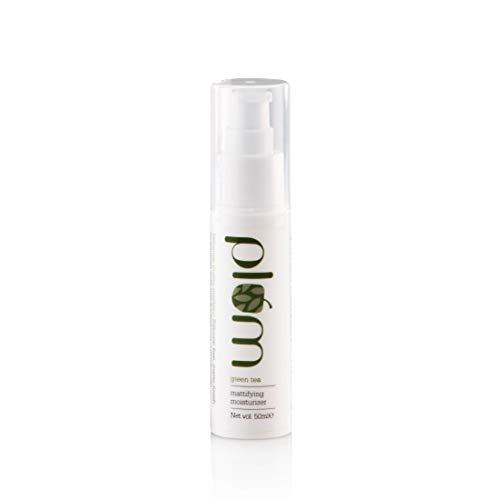 Plum Green Tea Mattifying Moisturizer for Daily Use | For Oily, Acne-Prone Skin | Lightweight, Matte Formula | 50ml