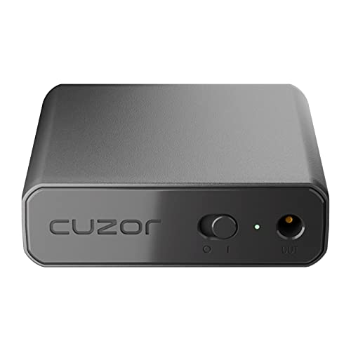 Cuzor Mini UPS for Wi-Fi Router|Supports All (12V-2A) (12V-1.5A)(12V-1A)|Up to 4 Hour Backup 2600mAH