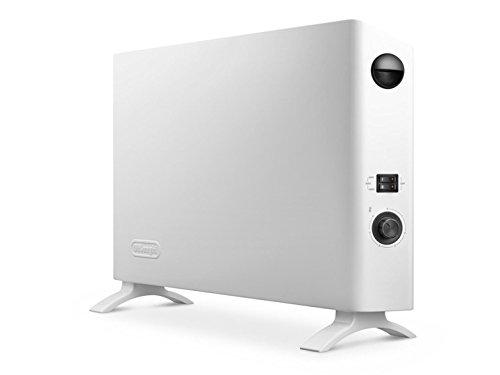 Delonghi HSX2320 HSX232 Convecteur mobile slim style, Blanc/Noir