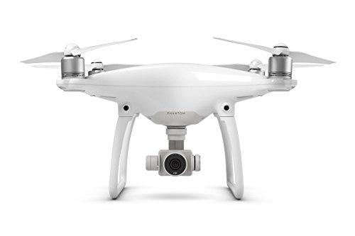 DJI Drone Phantom 4 con Videocamera 12 MP/4K, Bianco