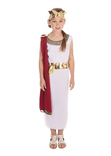 Bristol Novelty Traje de Diosa, Mediano, Edad aprox 5-7 años