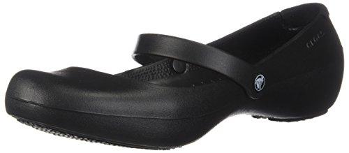 Crocs Alice Work, Mujer Zapato plano, Negro (Black), 38-39 EU