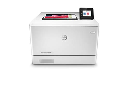 HP Color LaserJet Pro M454dw Wireless Laser Printer, Double-Sided & Mobile Printing, Security Features, Works with Alexa (W1Y45A)