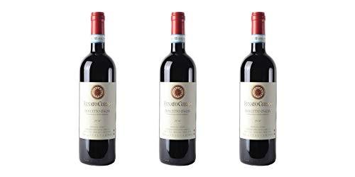 3 Bottiglie di Dolcetto d'Alba DOC   Cantina Renato Corino   Annata 2017