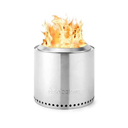 Solo Stove Ranger Outdoor Fire Pit Stainless Steel Portable Fire Pits for Wood Burning and Low Smoke great Fire Pit for S'mores and Hot Dogs