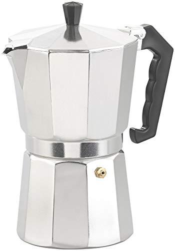 Cucina di Modena Kaffeekocher: Espresso-Kocher für 9 Tassen, 400 ml, für Gas- & Eletroherde geeignet (Outdoor Espressokocher)