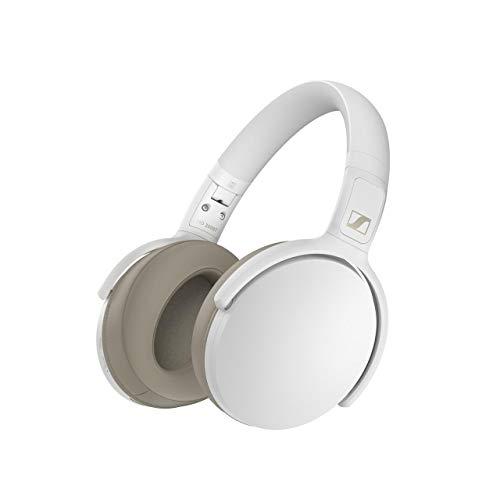Auricular Sennheiser HD 350BT Wireless Plegable, Blanco, Circumaural