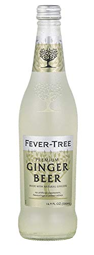Fever-Tree Ginger Beer – Pack of 8 500mL Bottles