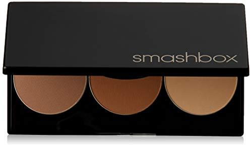 SmashBox Step By Step Contour Kit With Light Medium Brush, Brown, 4...
