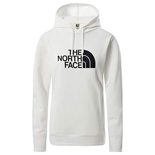 The North Face – Felpa con Cappuccio Half Dome da Donna - White, S