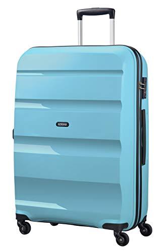 American Tourister Bon Air Spinner L Koffer, 75 cm, 91 L, Blau (Blue Topaz)
