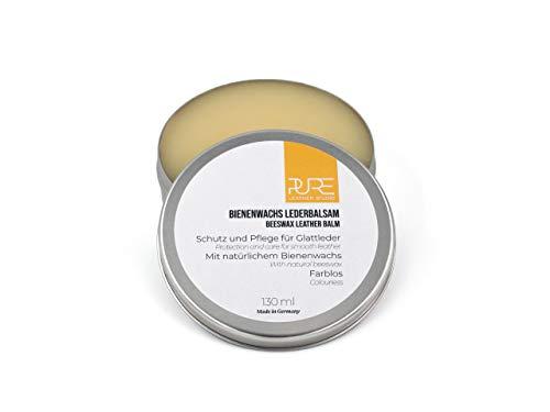 PURE Leather Studio Crema incolora para Cuidado de Piel y...