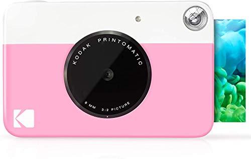 Kodak Printomatic - Cámara de impresión instantánea, imprime en Papel Zink 5 x 7.6 cm con...