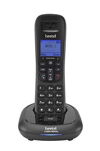 Beetel X91 Cordless 2.4GhZ Landline Phone with Caller ID Display, 2-Way Speaker Phone, Stores 100...