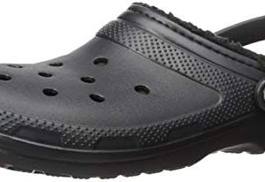CROC Men's and Women's Classic Lined Clog | Warm and Fuzzy Slippers