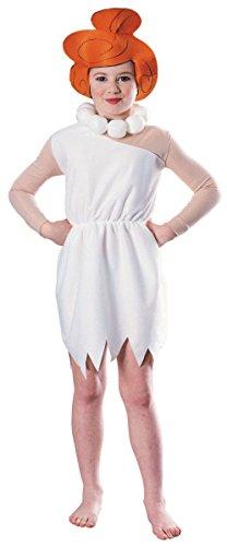 Wilma Flintstone Kids Costume - Medium