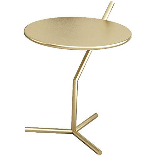 Home warehouse Divano Tavolino Scaffale Ferro Art Corner Table, Moderna Comodino Soggiorno Camera da...