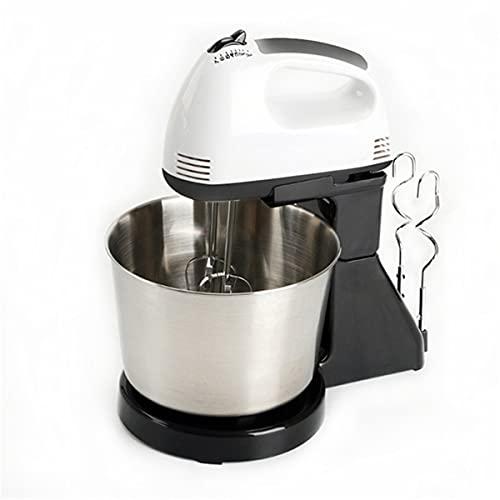 HIZQ Küchenmaschine Knetmaschine, Elektrische Mixer 7 Geschwindigkeit Tisch Stehen Kuchen Teig Mixer Hand Egg Beater Mixer Backen Schlagsahne Maschine
