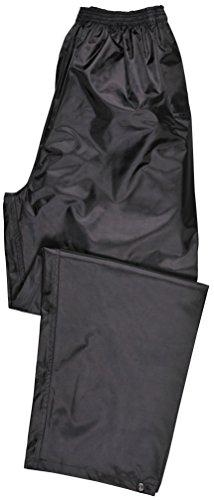 Portwest Klassische Regenhose, für Erwachsene, klassischer Schnitt, M, schwarz