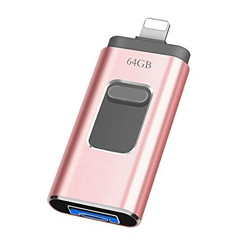 Allocat Chiavetta USB 64gb per Phone USB 3.0...